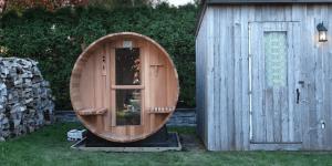 best outdoor sauna