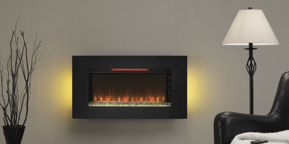 infrared fireplace