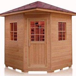4-Person-Outdoor-Sauna-Weather-Resistant-Hemlock-Wood