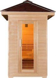Canadian-Hemlock-Wood-Traditional-Swedish-1-or-2-Person-Outdoor-Steam-Sauna