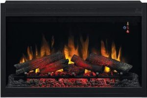 """ClassicFlame-36""""-Traditional-Built-in-Electric-Fireplace-Insert-scaled"""