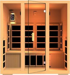 JNH-Lifestyles-MG417HB-Joyous-4-Person-Far-Infrared-Sauna