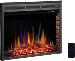 """R.W.FLAME-36""""-Electric-Fireplace-Insert"""
